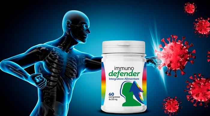IMMUNODEFENDER per l'immunità: proteggiti rinforzando il sistema immunitario!