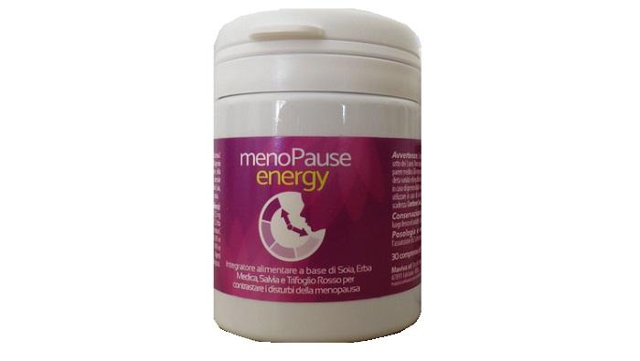 Menopause Energy contro vampate, balzi d'umore e diminuzione di densità ossea!
