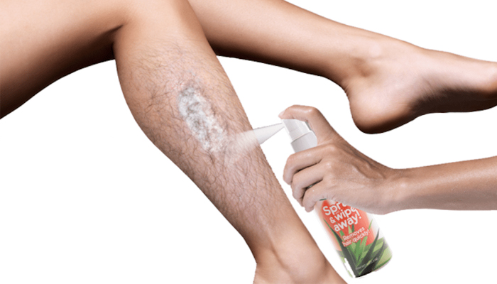 Hair Erase spray depilatorio: depilazione senza dolori e fastidi