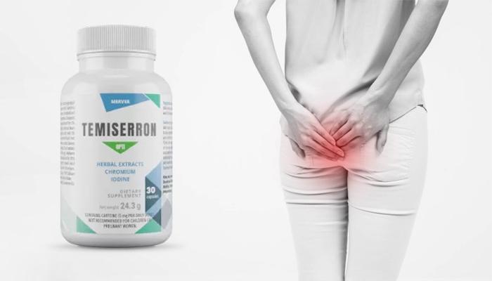 Temiserron Opti contro le emorroidi: tra 28 giorni ti libererai completamente delle emorroidi