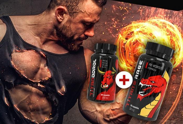 Titanodrol per aumentare la massa muscolare: costruisci in pochi mesi la massa che gli altri costruiscono in anni!
