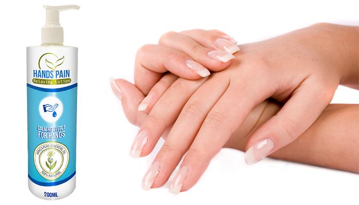 HANDS PAIN: pelle sana e visibilmente vellutata sin dalle prime applicazioni