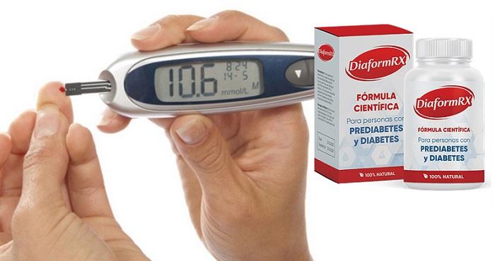 DiaformRX dal diabete: normalizza il livello di glucosio nel sangue!