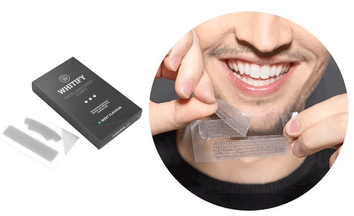 Whitify Strips per lo sbiancamento dei denti: abbaglia con il tuo sorriso!